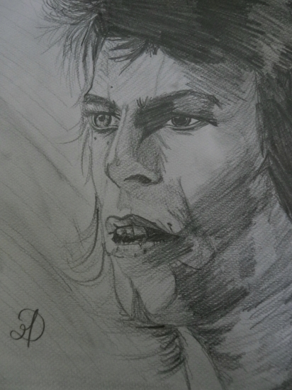David Bowie by MD